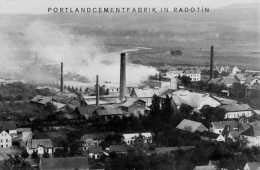 Cement Works in the Center of Radotín