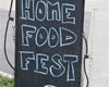Home Food Festival, 3.9.2017